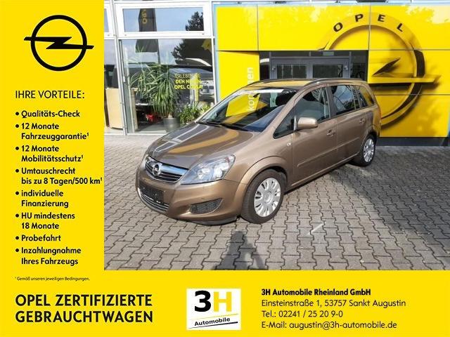 Opel Zafira 1.8 Easytronic Family Klima*AHK*SHZ*PDC, Jahr 2013, Benzin