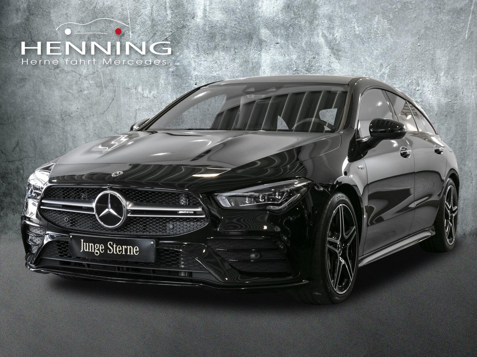 Mercedes-Benz CLA 35 AMG SB 4M Burmester Pano Memory Night, Jahr 2020, Benzin