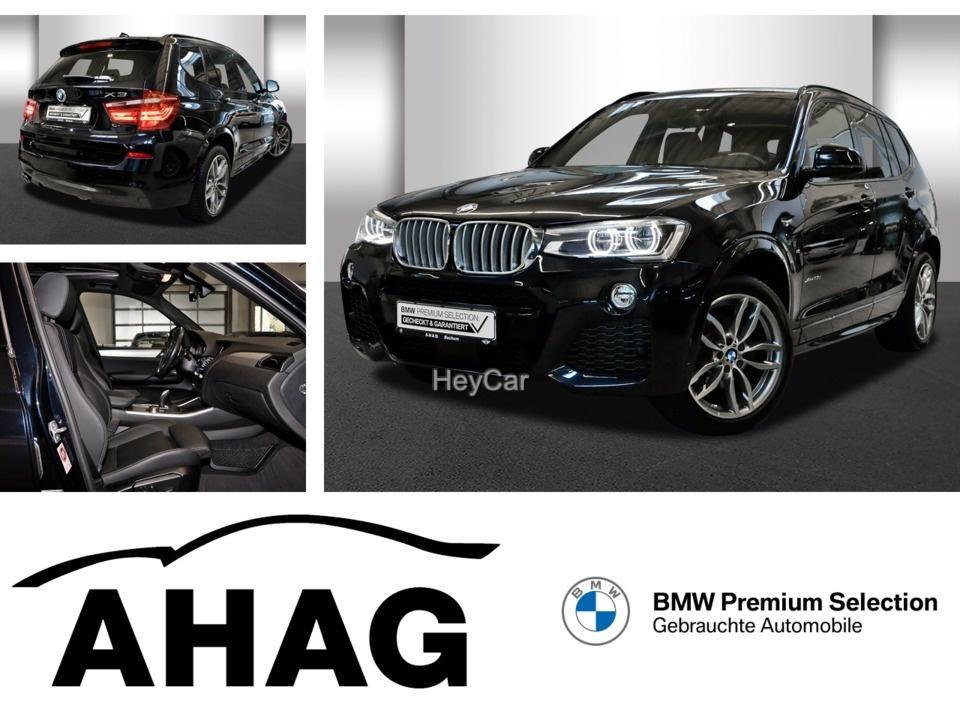 BMW X3 xDrive35d M SPORT AT M Sportpaket Navi Prof., Jahr 2017, Diesel