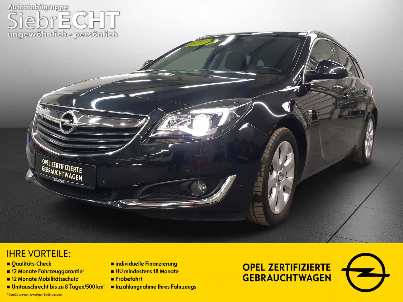 Opel Insignia Innovation 1.6 D*Xenon*Navi*RFK*PDC*AHK, Jahr 2015, Diesel