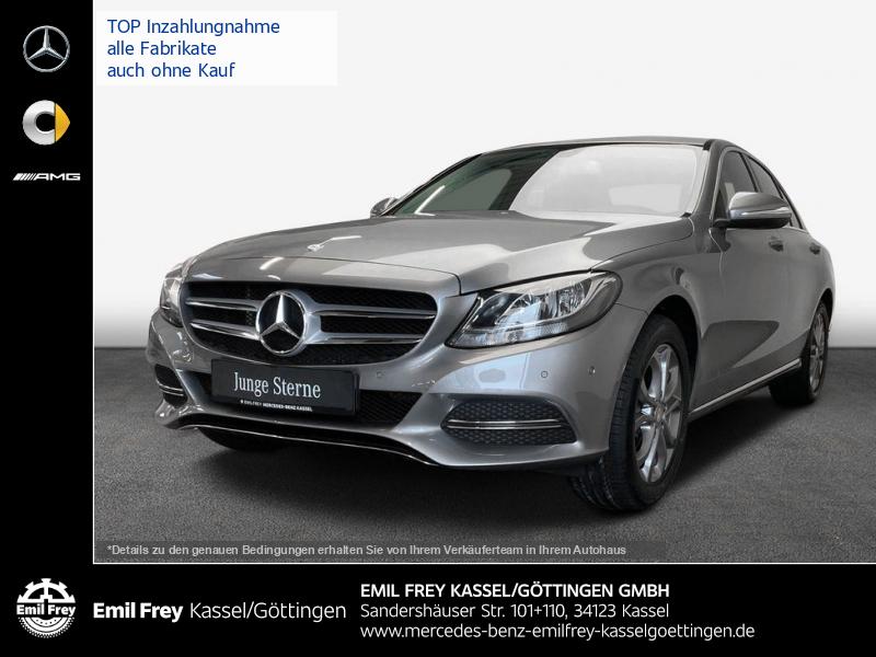 Mercedes-Benz C 180 Avantgarde+Navi+KlimaAutom+Shz+PTS+Sitzkomfort, Jahr 2014, Benzin