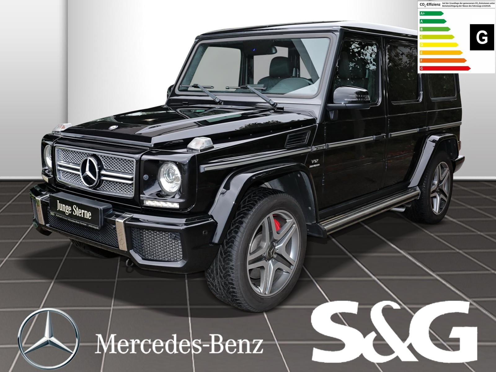 Mercedes-Benz G 65 AMG COMAND/Harman/RüKa/designo-Exklusiv-Pak, Jahr 2013, Benzin