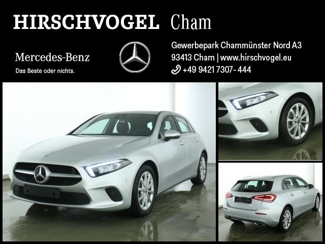 Mercedes-Benz A 220 Progressive+AHK+MBUX+Navi-Prem+LED+Kam+PDC, Jahr 2019, Benzin
