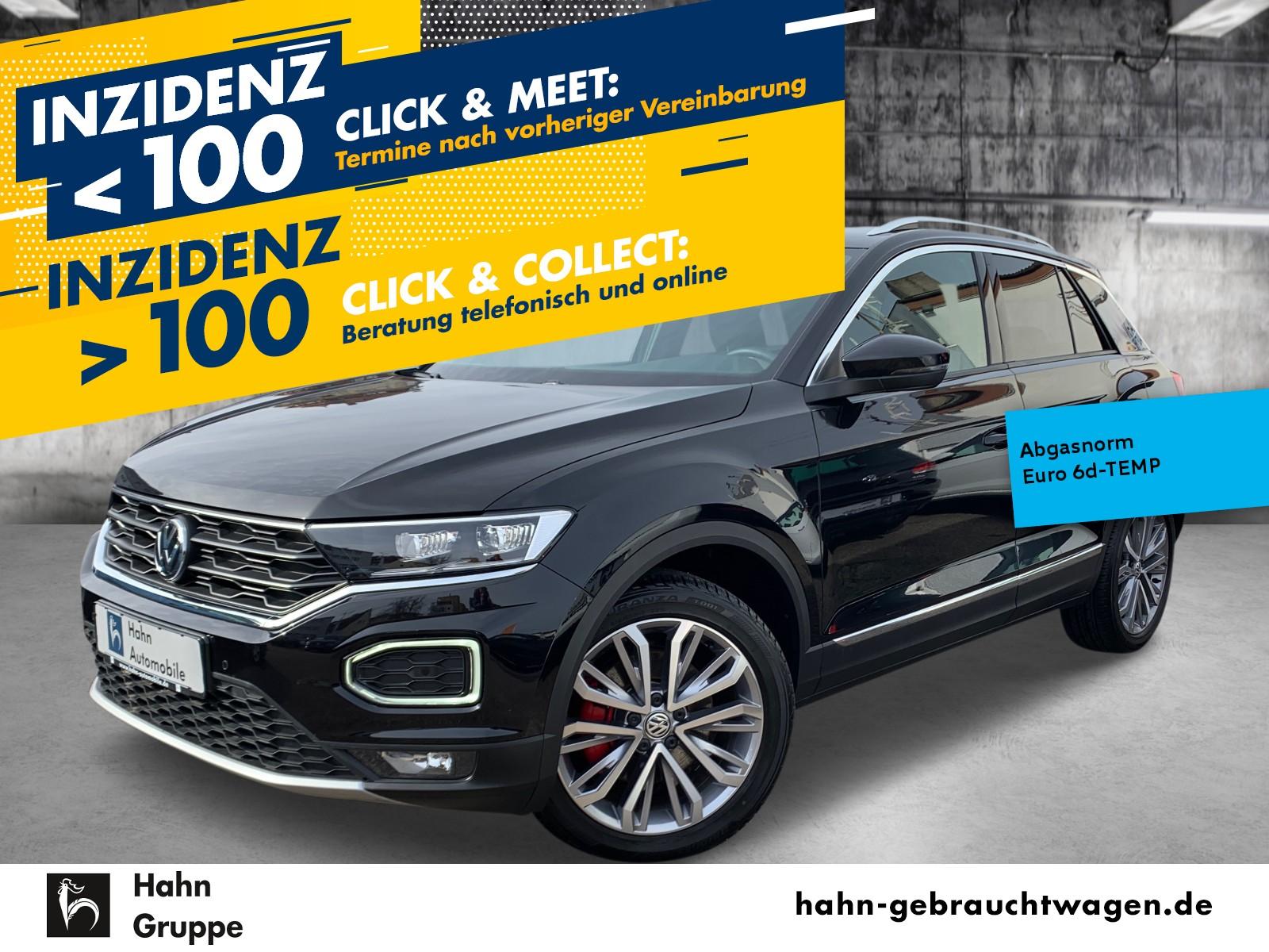Volkswagen T-ROC Sport 1.5TSI ACC Nav Sitzh Einpark Climatr, Jahr 2019, Benzin
