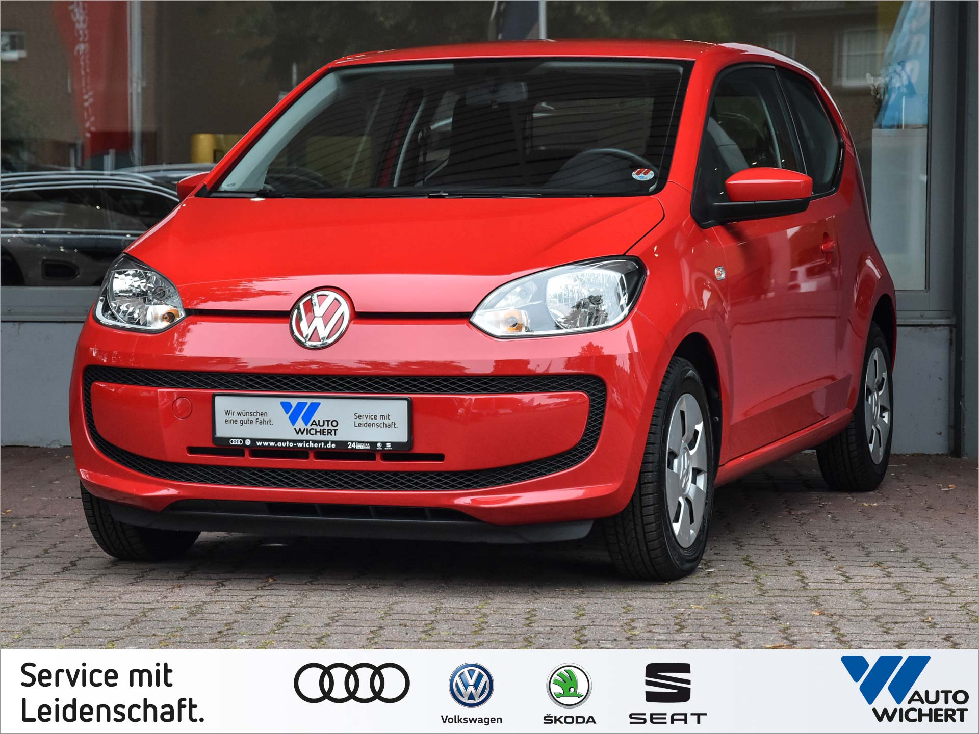 Volkswagen up! move up! 1.0 5-Gang KLIMA + RADIO/CD, Jahr 2012, petrol