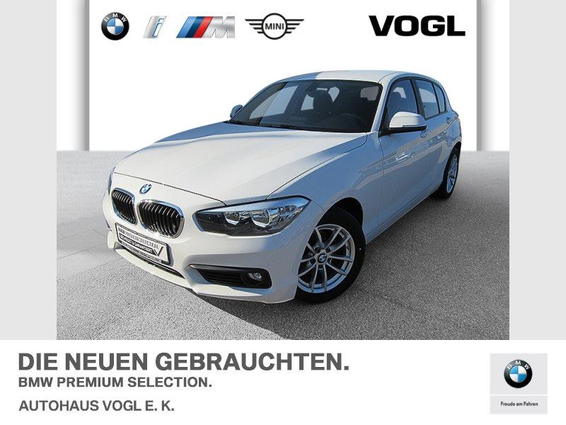 BMW 116i 5-Türer Advantage Tempomat USB Klimaaut., Jahr 2018, Benzin
