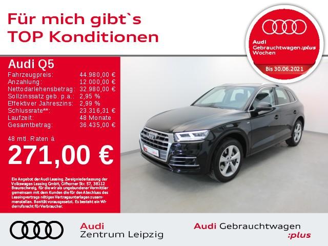 Audi Q5 3.0 45 TDI quattro sport *LED*Navi*AHK*Pano*, Jahr 2019, Diesel