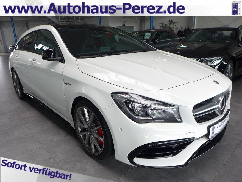 Mercedes-Benz CLA 45 AMG Shooting Brake 4M COMAND-DISTR-NIGHT, Jahr 2019, Benzin
