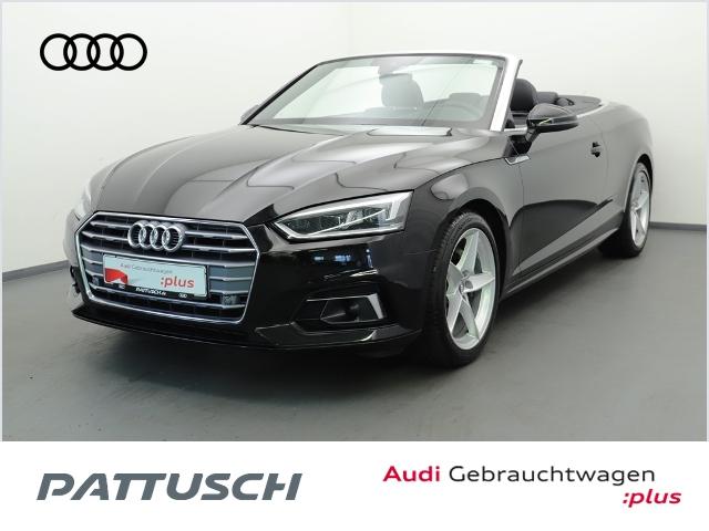 Audi A5 Cabriolet 2.0 TDI LED Navi Leder Rückfahrkame, Jahr 2018, Diesel