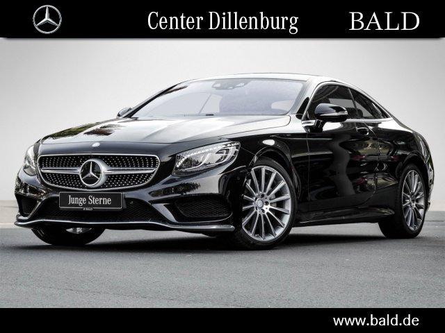 Mercedes-Benz S 400 4M Coupe AMG-Sport/Comand/Standhzg/HUD LED, Jahr 2016, petrol
