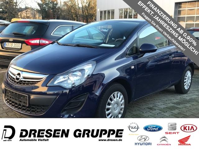 Opel Corsa 1.2i-Klima+SERVO+ZV+RadioCD+MP3 EL-SPIEGEL+ABS+ESP+COOL+SOUND-PAKET, Jahr 2014, Benzin