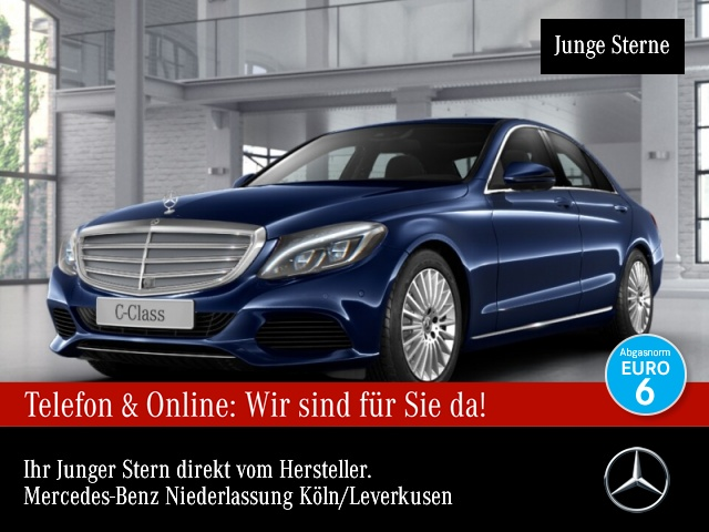 Mercedes-Benz C 300 Avantgarde Exclusive COMAND ILS LED EDW PTS, Jahr 2017, Benzin