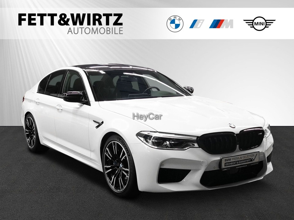 BMW M5 Competition xDrive DA+ B&W PA+ Gestik Soft-Cl, Jahr 2019, Benzin