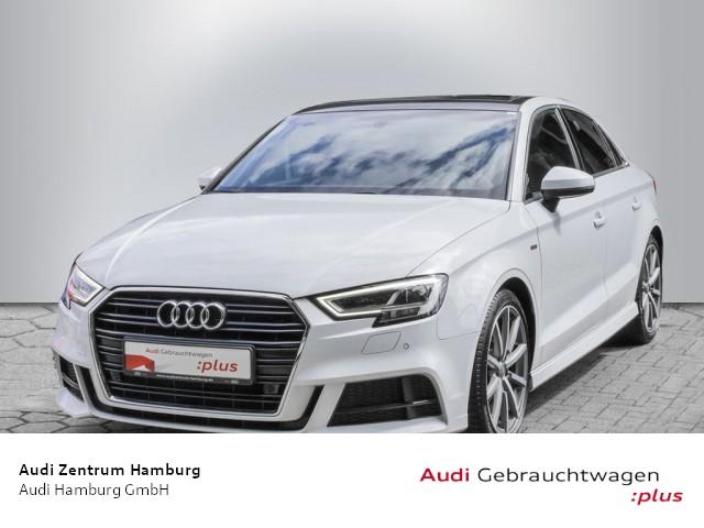 Audi A3 Limousine 1,5 TFSI design S tronic S LINE NAVI PANO, Jahr 2018, Benzin
