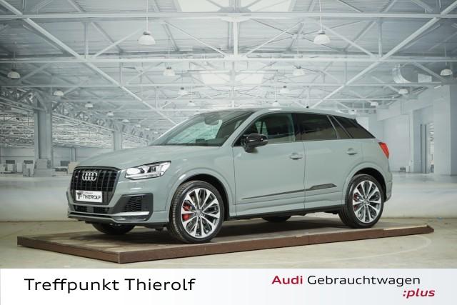 Audi SQ2 2.0 TFSI quattro B&O Kamera Head-Up Klima, Jahr 2019, petrol