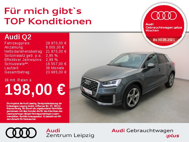 Audi Q2 2.0 TDI quattro sport S tronic *LED*B&O*Pano*, Jahr 2018, Diesel