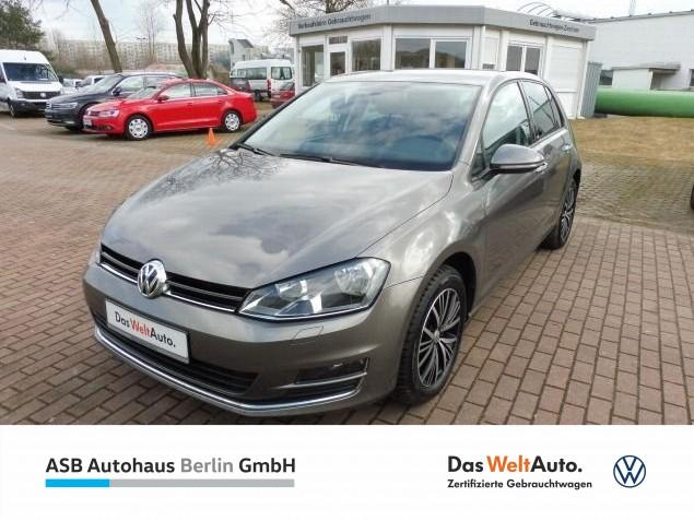"Volkswagen Golf 1,2 TSI ""ALLSTAR"" Climatronic PDC SHZ, Jahr 2017, petrol"