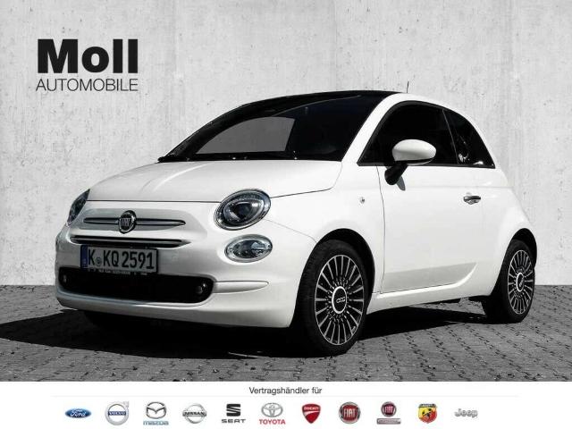 Fiat 500 Lounge Edition Hybrid Klimaautomatik, Apple, Jahr 2019, Benzin