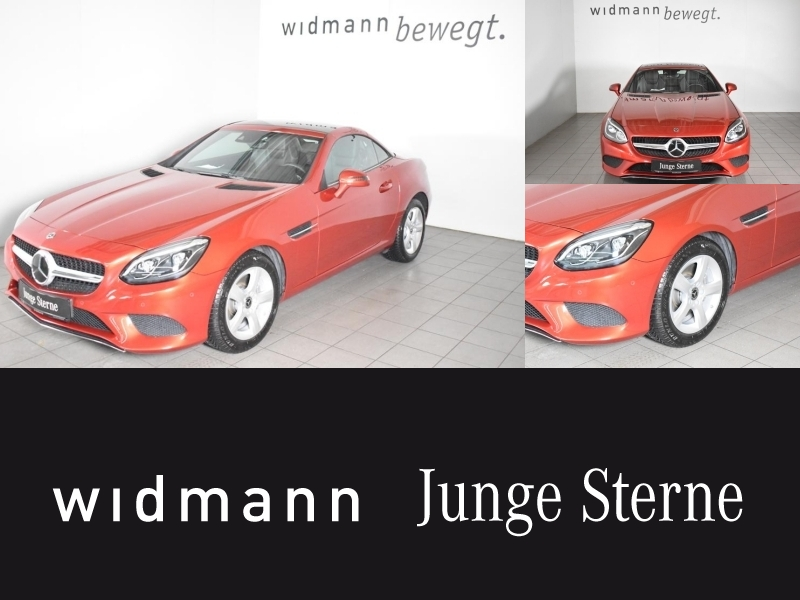 Mercedes-Benz SLC 200 Comand*Distronic*Spur-P.*LED*Kamera, Jahr 2018, petrol