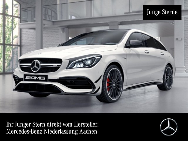 Mercedes-Benz CLA 45 4MATIC Shooting Brake Sportpaket Bluetooth, Jahr 2016, Benzin