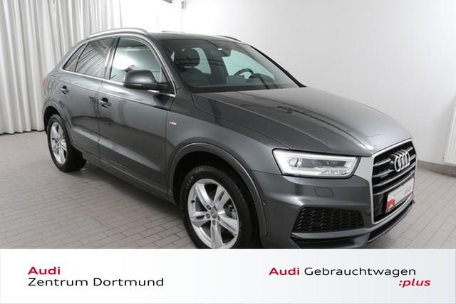 Audi Q3 2.0TDI qu. S line/Navi+/LED/Pano/DAB, Jahr 2017, Diesel