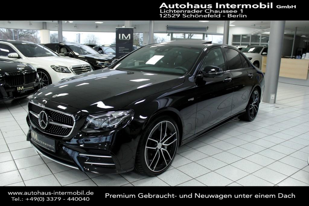 Mercedes-Benz E 43 AMG 4M Styling-Paket 1*HUD*Schiebedach*360°, Jahr 2018, Benzin