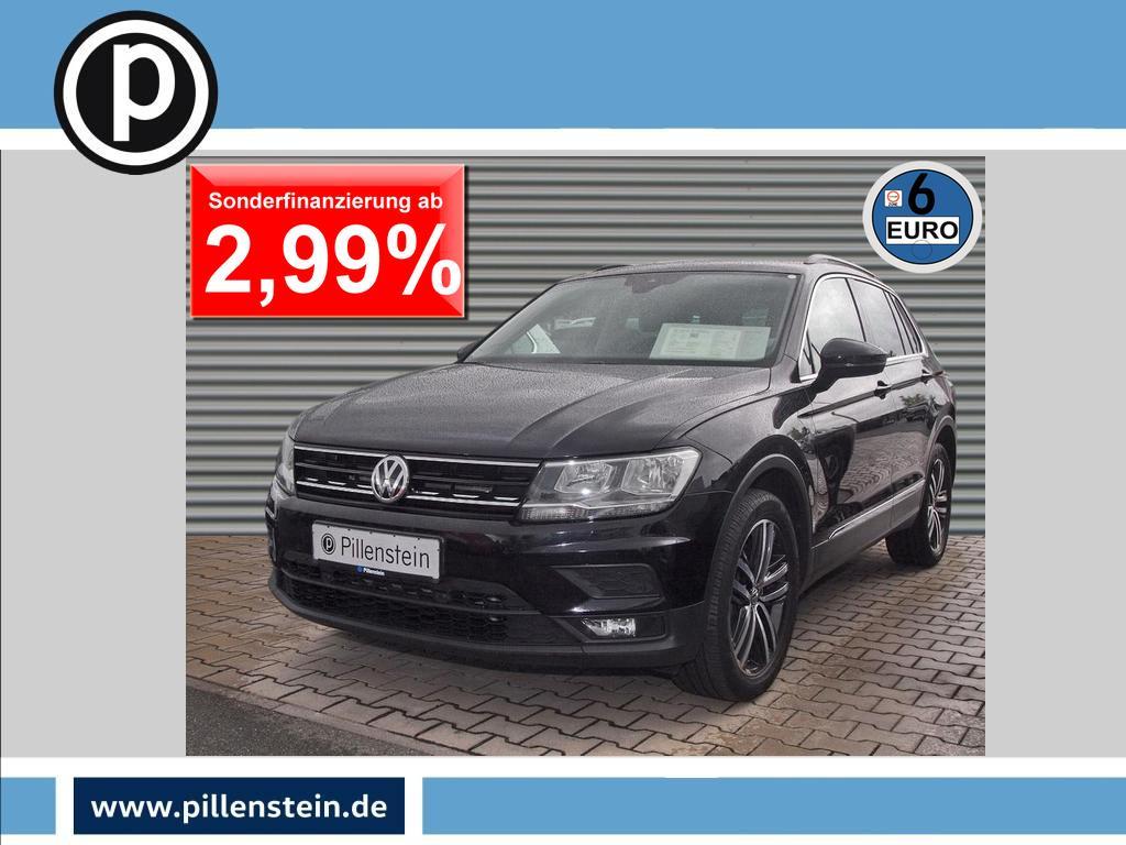 Volkswagen Tiguan 2.0 TSI Comfortline ACC DAB+ NAVI Alu-19`, Jahr 2018, Benzin