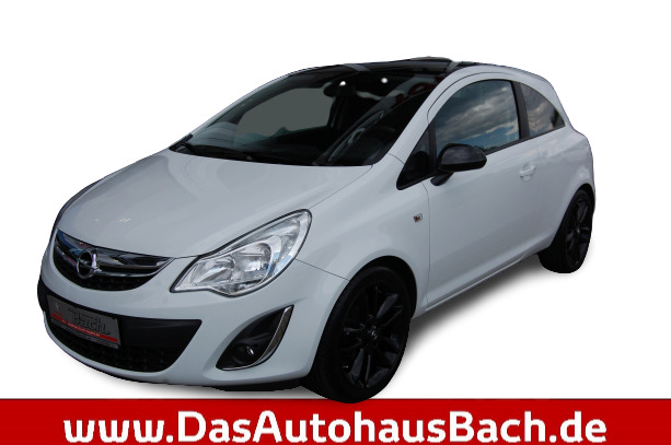 Opel CORSA 1,4ltr. 3-trg. Color Edition, Jahr 2012, Benzin