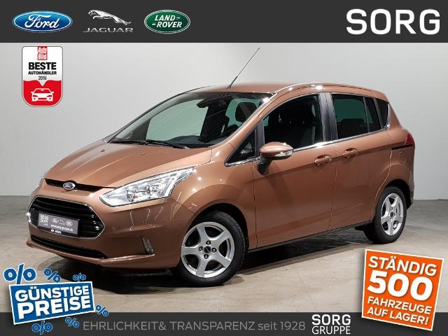 Ford B-MAX 1.0 EcoB Titanium*AHK*KLIMAAUTOMATIK*, Jahr 2012, Benzin