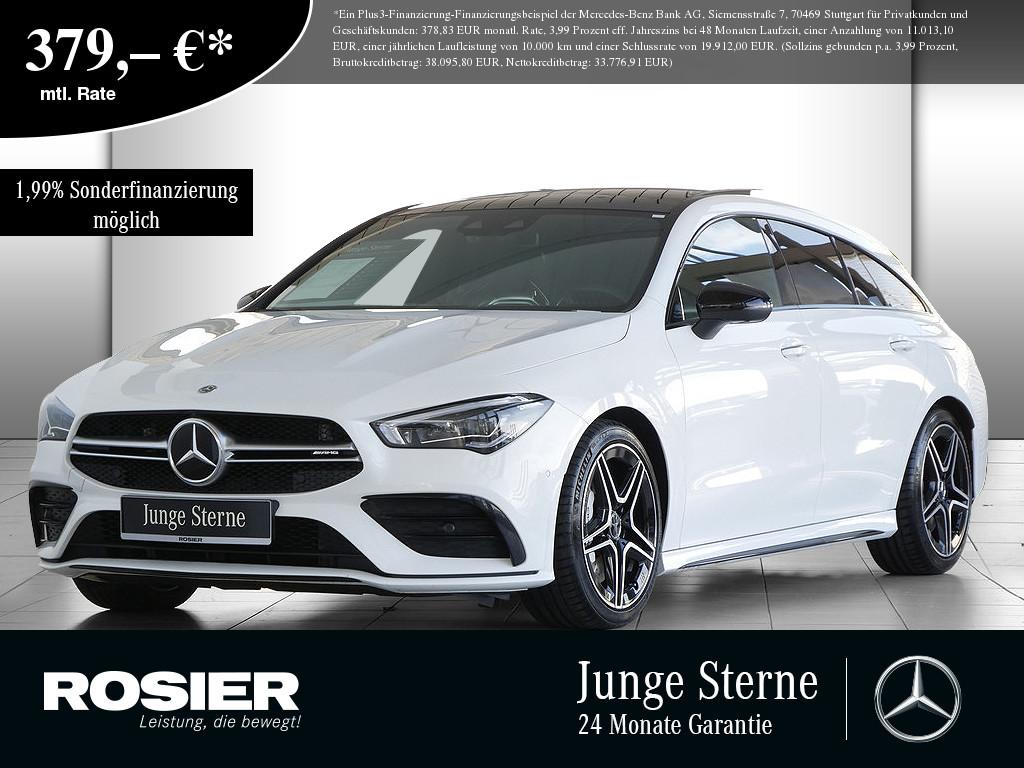 Mercedes-Benz CLA 35 AMG SB 4M, Jahr 2019, Benzin