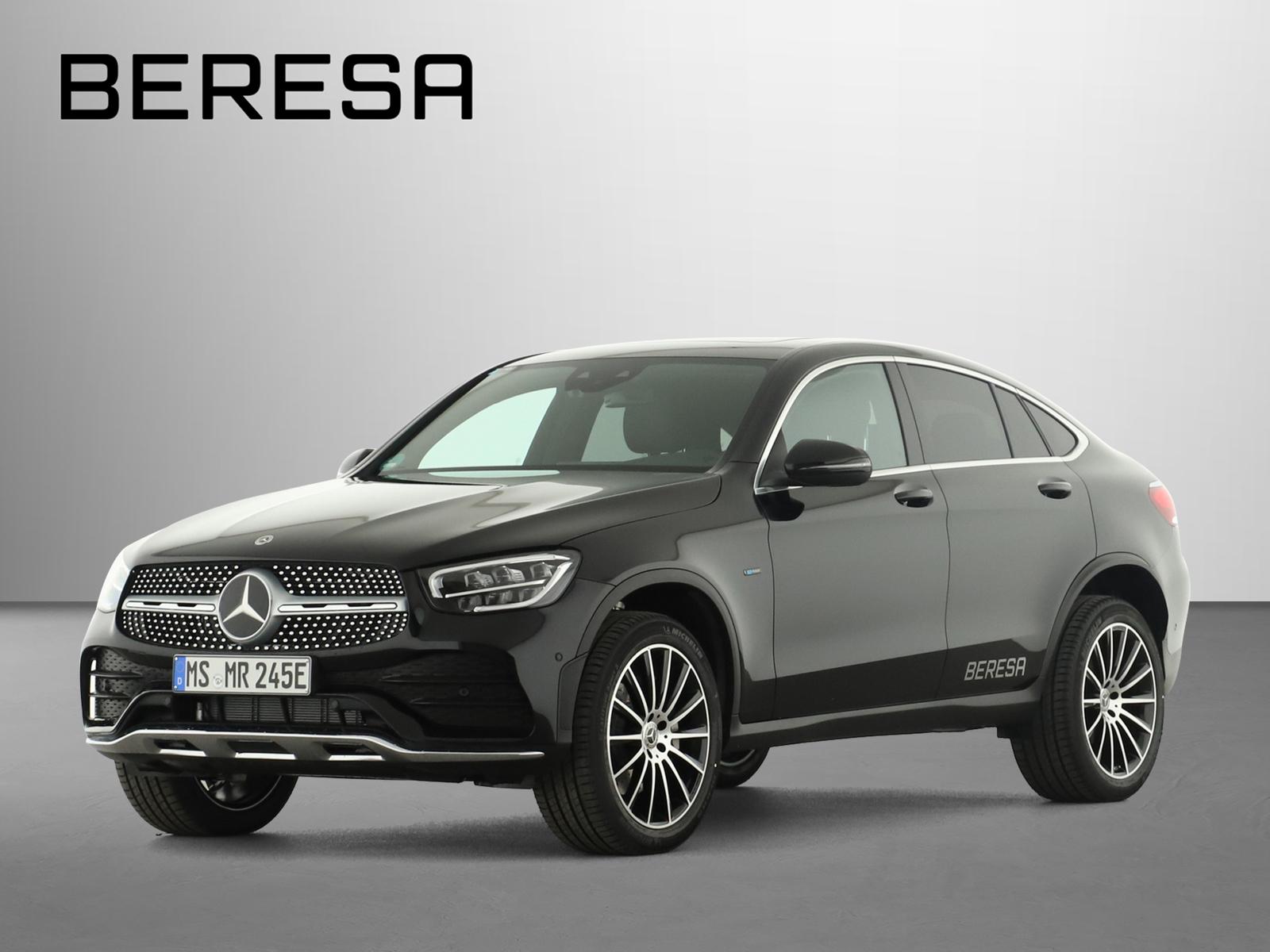 Mercedes-Benz GLC 300 de 4M AMG Burmester Fahrassist. LED AHK, Jahr 2021, Hybrid_Diesel