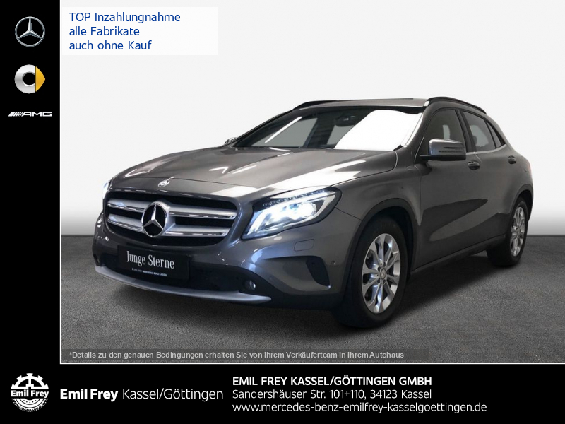 Mercedes-Benz GLA 200 d 7G Style*BiXenon*Navi-Vor*nur 31.902 km*, Jahr 2014, Diesel