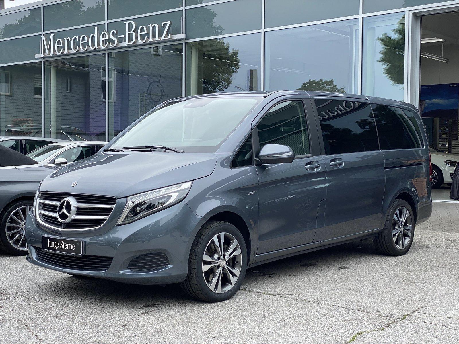 Mercedes-Benz V 250d 4M Avantgarde Edit. COMAND+STDHZ+AHK+360, Jahr 2017, Diesel