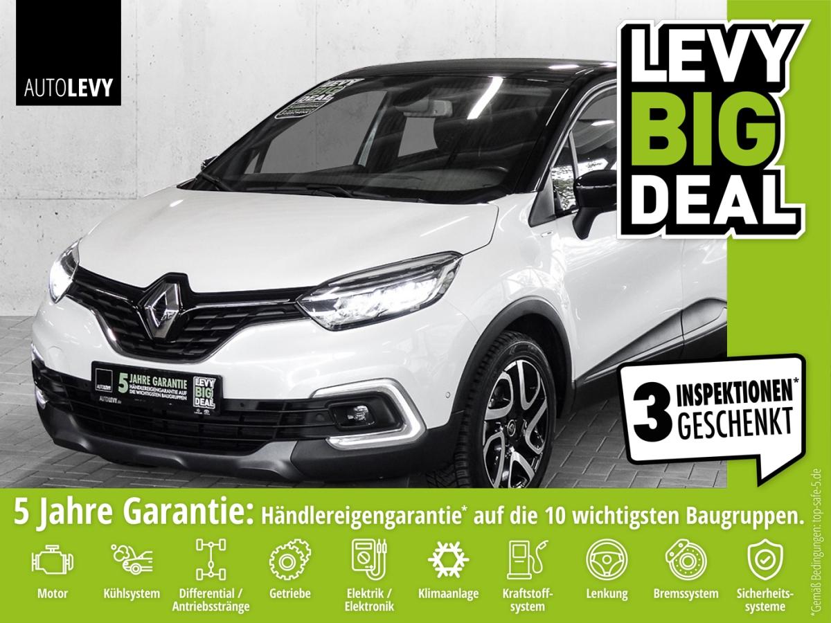 Renault Captur TCe 150 EDC GPF Intens *NAVI*LED*BOSE*SHZ, Jahr 2019, Benzin