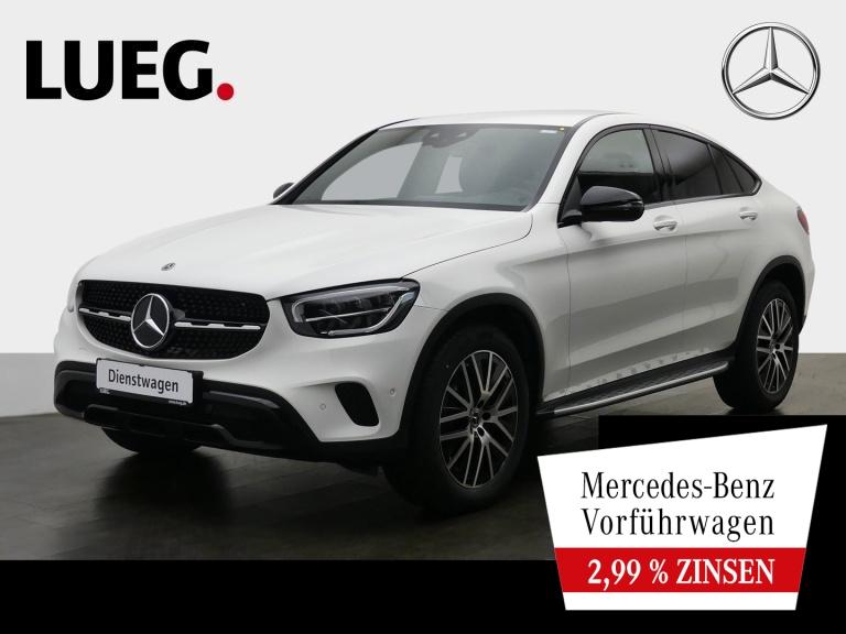 Mercedes-Benz GLC 200 4M Coupé NIGHT+LEDER+SITZKLIMA+TOTW+KAM, Jahr 2020, Benzin