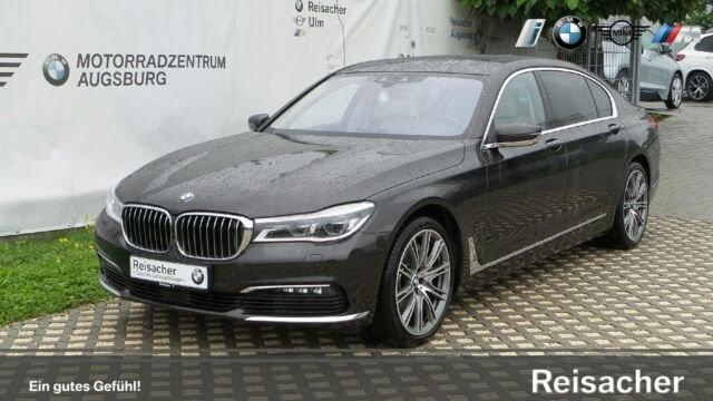 BMW 750Li A xDrive Limousine,Vollausstattung!!!, Jahr 2015, petrol
