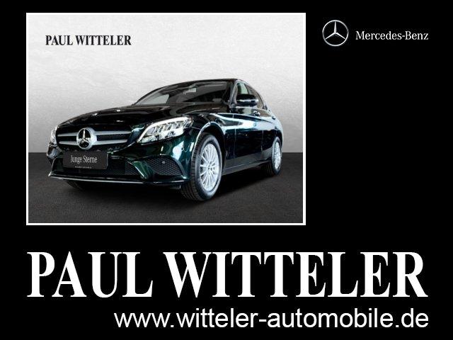 Mercedes-Benz C 160 Rückfahrk./LED/Keyless-GO/Park-P Navi/FIS, Jahr 2019, Benzin