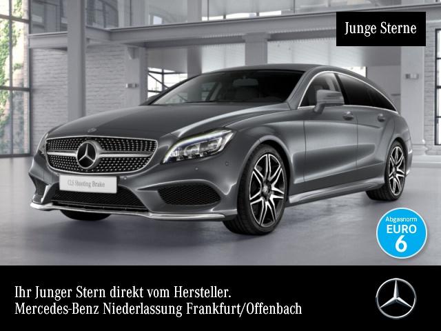 Mercedes-Benz CLS 500 SB 4M AMG Fahrass Airmat Stdhzg Multibeam, Jahr 2015, petrol