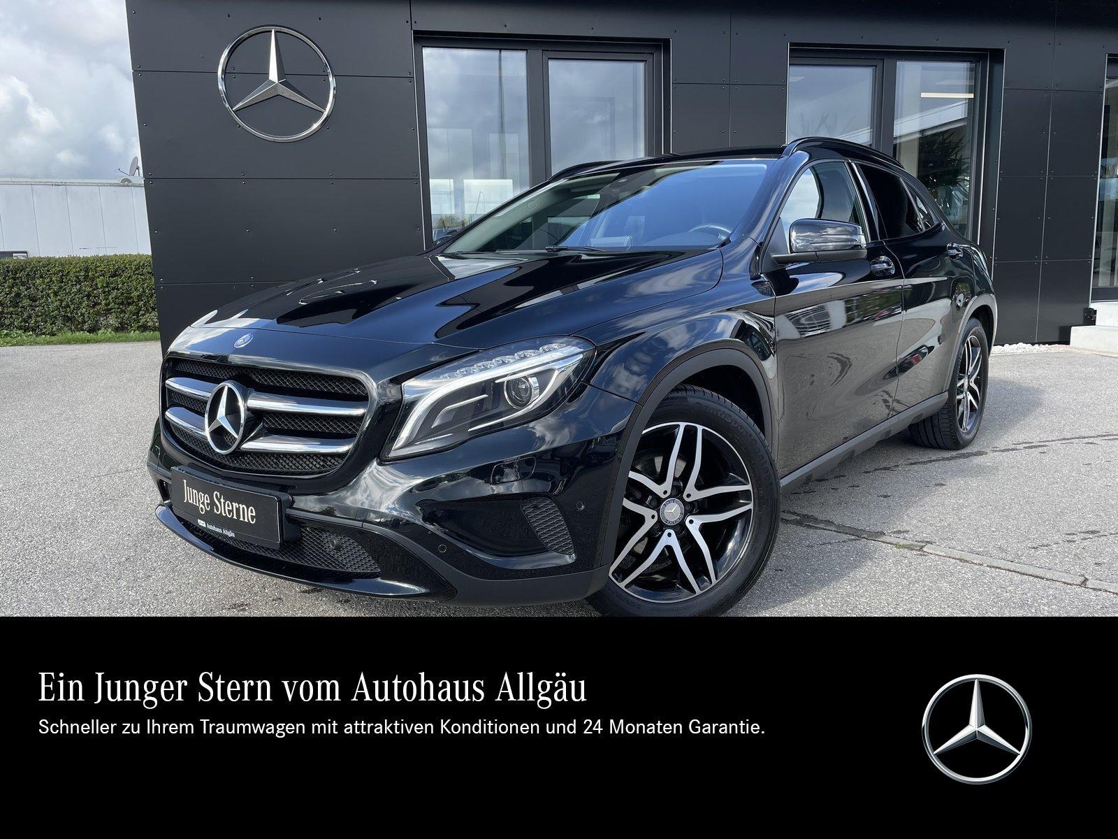 Mercedes-Benz GLA 220 d URBAN+AHK+KAMERA+HARMAN+XENON+NIGHT+SH, Jahr 2015, Diesel