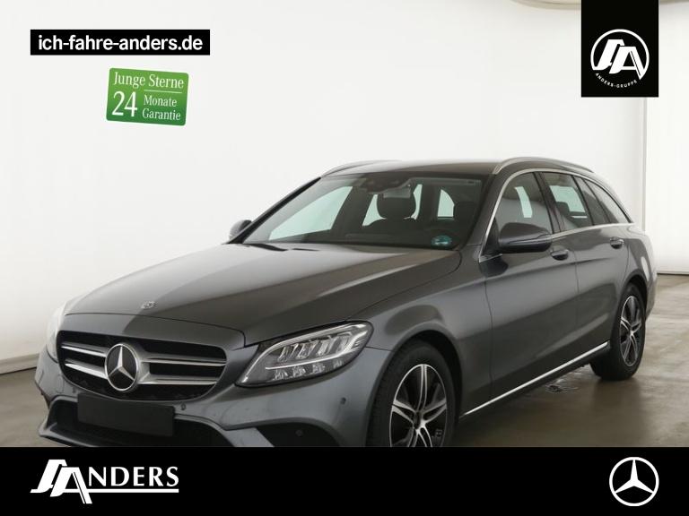 Mercedes-Benz C 180 T Avantgarde+Spur-P.+LED+Kamera+Navi+SHZ, Jahr 2020, Benzin