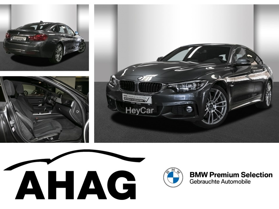 BMW 430d Gran Coupe M Sport Navi Prof. Aut. PDC HIFI, Jahr 2018, Diesel