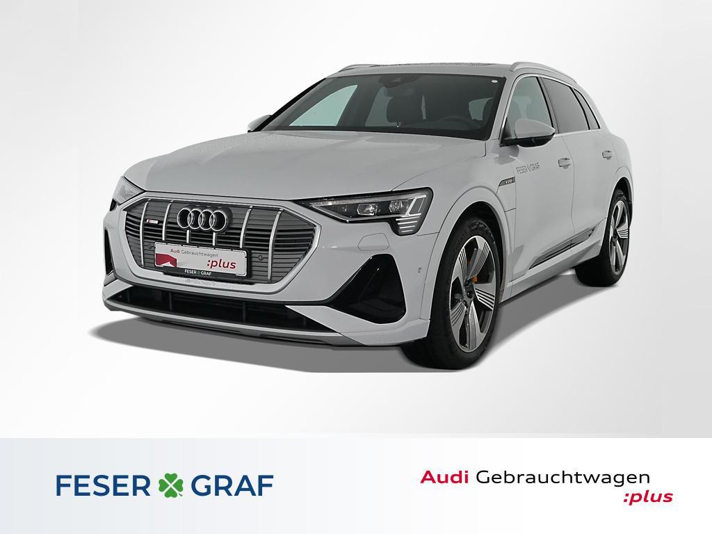 Audi e-tron 55 qu S Line HUD,Pano,Kamera,B&O,21, Jahr 2021, Elektro