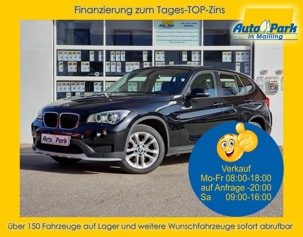 BMW X1 18i XENON~NAVI~PDC~SHZ~ALU~GRA~MFL~BT~KLIMA, Jahr 2014, Benzin