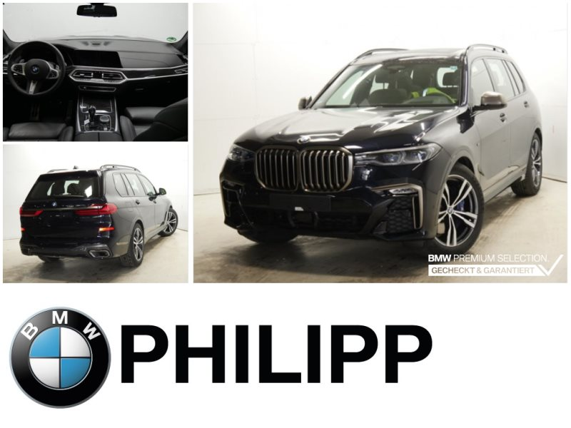 BMW X7 M50d Laser B&W DAB DA Pro. St.Hz PA+, Jahr 2020, Diesel