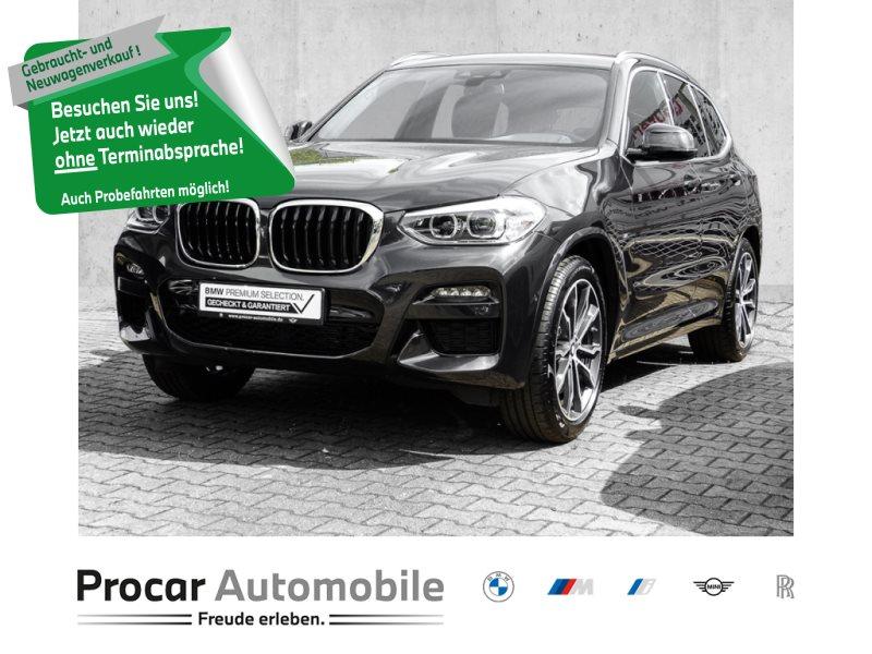 BMW X3 xDrive30i M SPORT+NAVI+H/K+KMERA+LEDER+SHZ+20ZOLL, Jahr 2020, Benzin