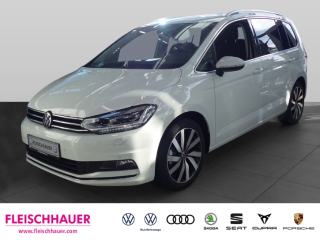 Volkswagen Touran Highline 1.5 TSI DSG UPE 47.070 ACC, Keyless, LED, Jahr 2020, Benzin