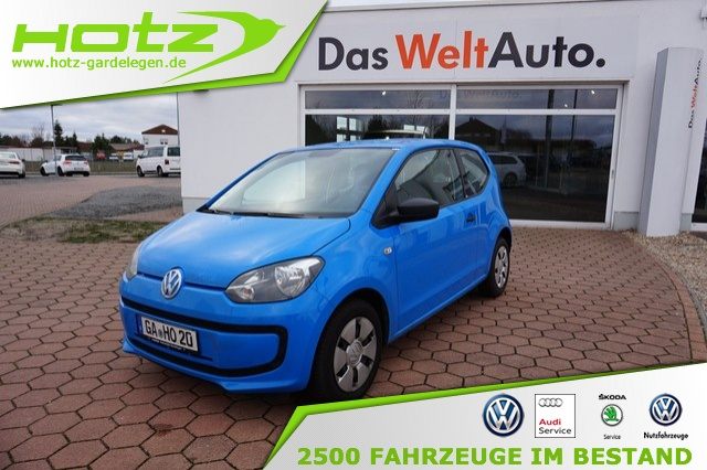 Volkswagen up! 1.0 take up! Klima, MP3, Radio/CD, Jahr 2014, petrol