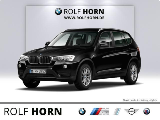 BMW X3 xDrive20d PDC HIFI RKam Sitzhzg EURO 6, Jahr 2015, Diesel