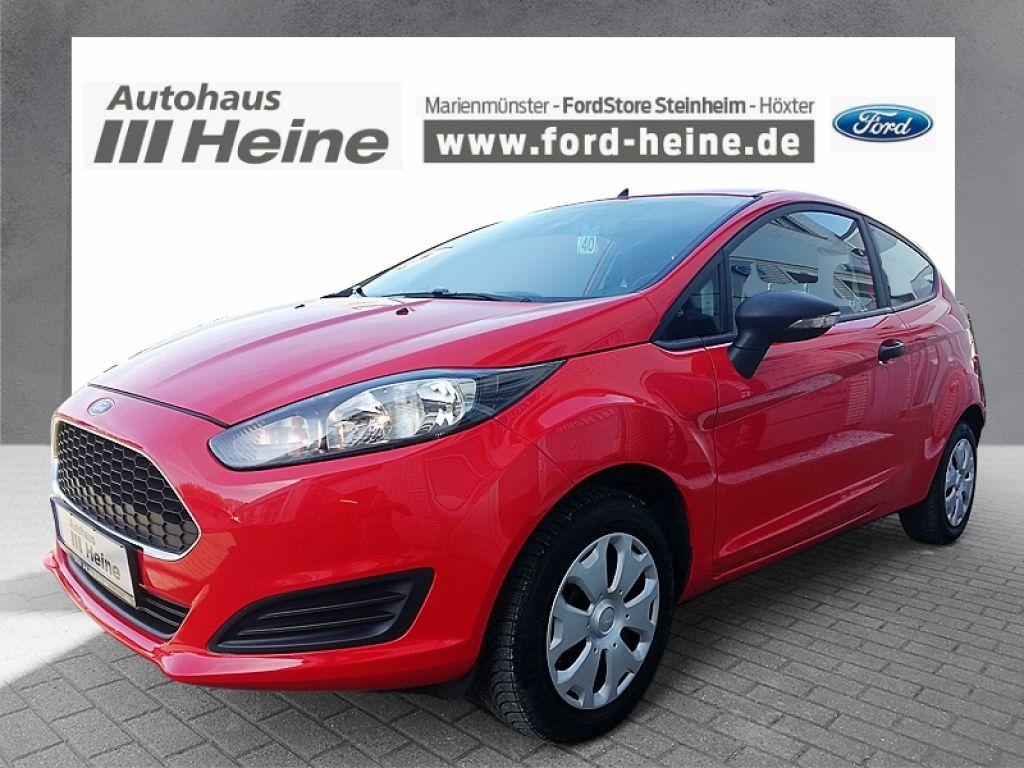 Ford Fiesta 1.25 + KLIMA + AUDIOSYSTEM-CD + ZV+FB +, Jahr 2017, Benzin