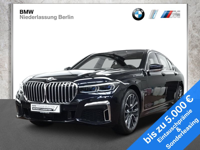 BMW 745e iPerformance Lim. EU6d-Temp M Sport Laser, Jahr 2019, Hybrid